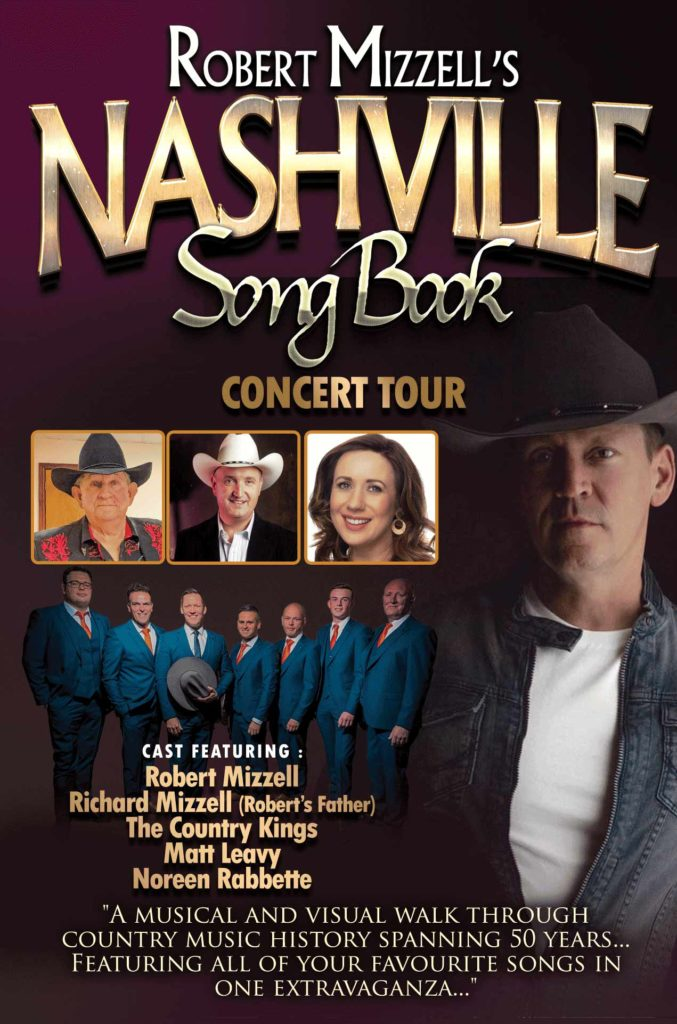 Robert Mizzell's Nashvile Songbook Country Tour