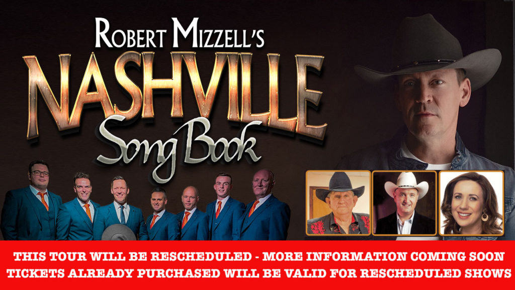 Nashville Song Book Tour - Rescheduled