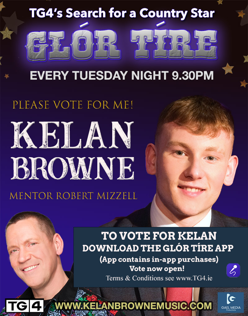 Glor Tire 2021 - Vote for Kelan Browne - Robert Mizzell's Contestant
